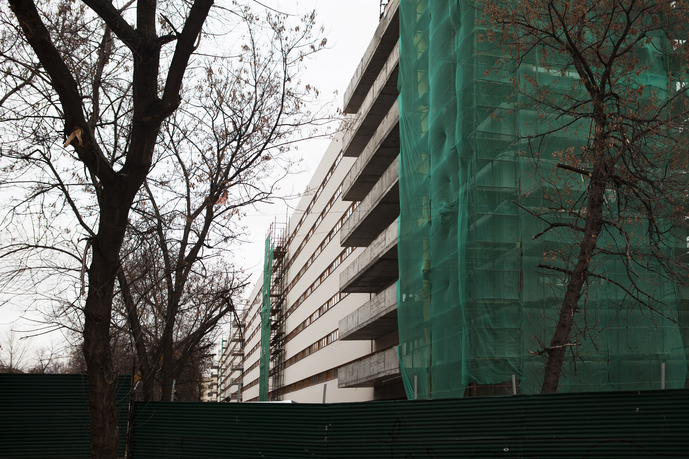 Nikolaev's Textile Industry Hostel