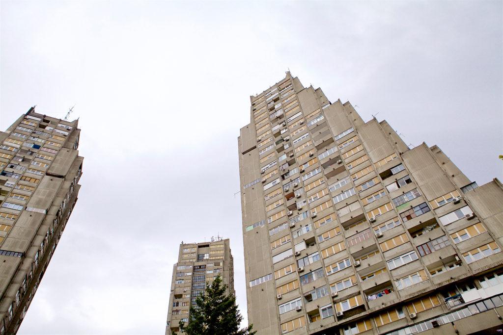 East-Gate of Belgrade, Rudo Buildings