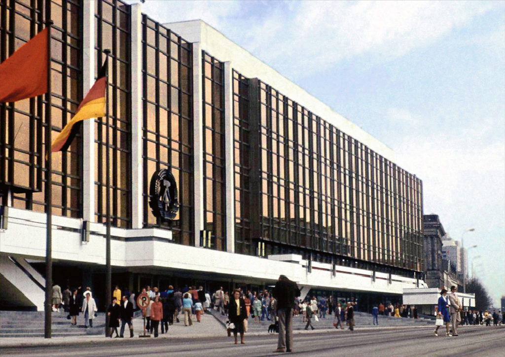 Palast der Republik, DDR