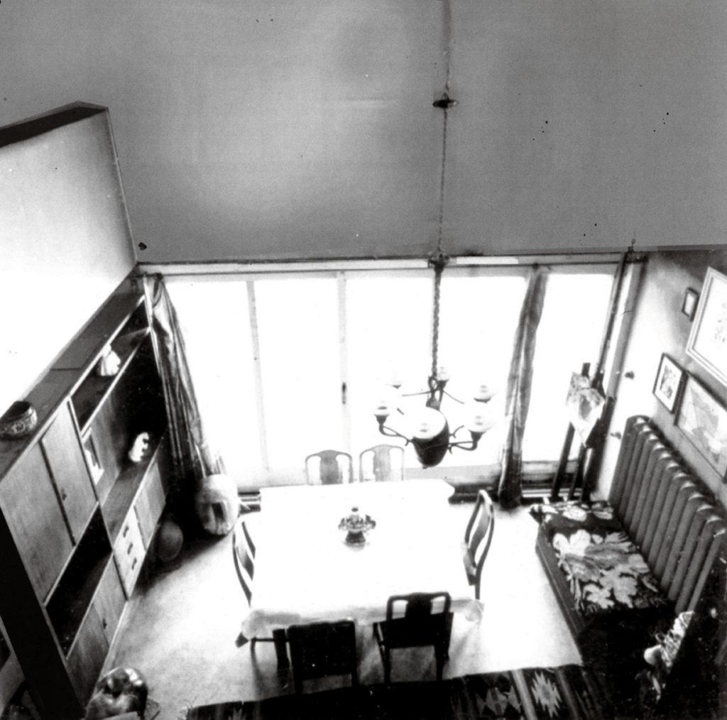 Narkomfin, Miljutin's apartment