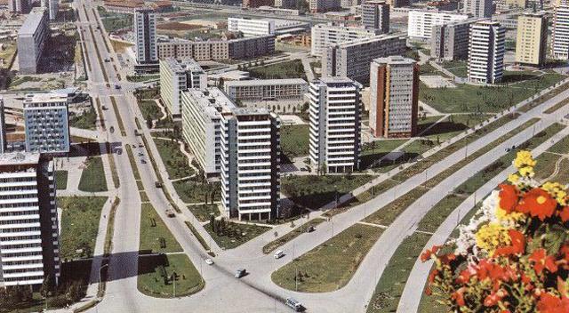 Novi Beograd postcard